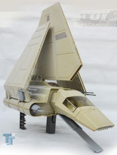Vintage Imperial Shuttle, lose