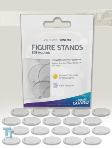 Ultimate Guard Figuren Stands - Modern (Small Peg) 20x