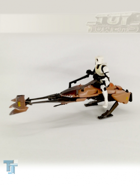 POTF² Speeder Bike mit Biker Scout, lose
