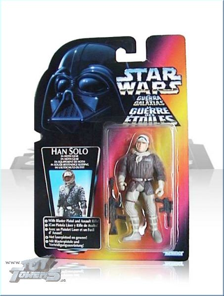 POTF² Han Solo Hoth - rote  EU Karte