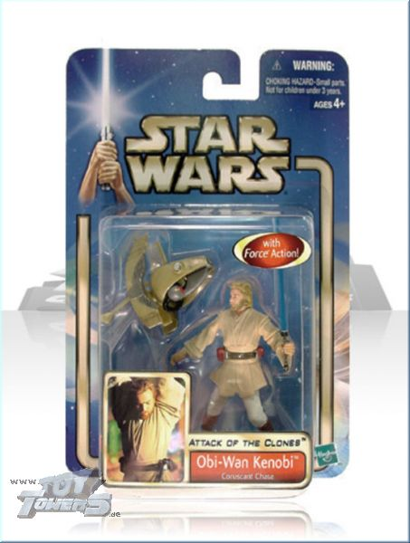 AOTC - Obi Wan Kenobi ( Coruscant Chase ) 02|#03