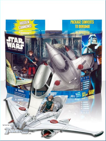 TCW - Naboo Star Skiff with Anakin Skywalker