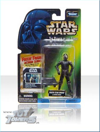 POTF² Death Star Droid with Mouse Droid - US Freeze Frame