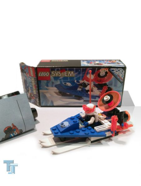 "Lego Space ""Ice Planet Bob"" Celestial Sled 6834 von 1993, lose"