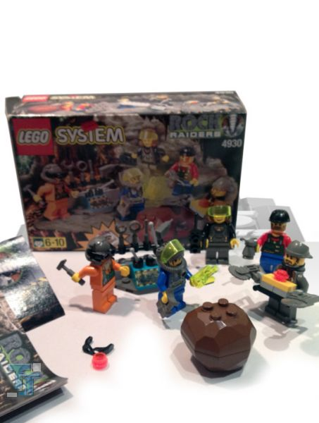 Lego System 1999 Rock Raiders Crew Set 4930, lose