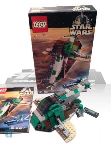 Lego Star Wars Slave 1 Classic 7144, lose
