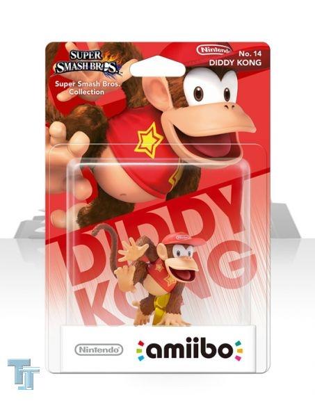 amiibo Super Smash Bros. Collection - Diddy Kong, MISB