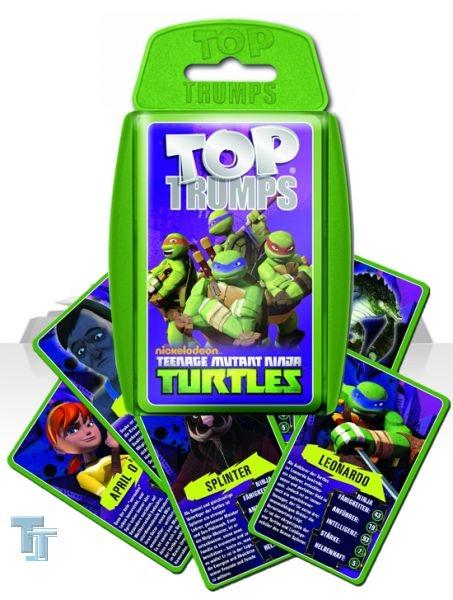 Top Trumps - Teenage Mutant Ninja Turtle - Winning Moves 61755 - Kartenspiel