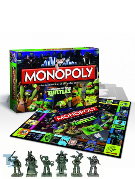 Monopoly Teenage Mutant Ninja Turtles - Winning 42808 - Brettspiel
