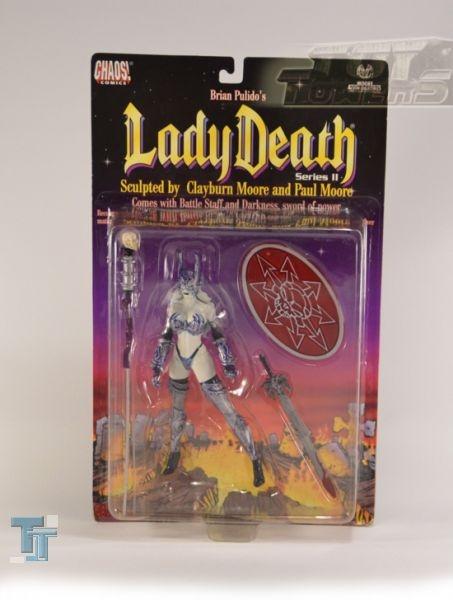 Chaos! Comics - Lady Death (Battle Armor), MOC
