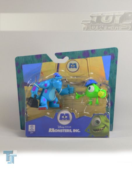 Spinmaster Monsters Inc. Sulley and Mike 2 Figuren, 2-Pack, MOC
