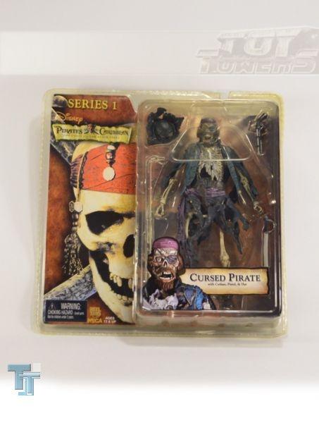 NECA Pirates of the Caribbean - Cursed Pirate, MOC