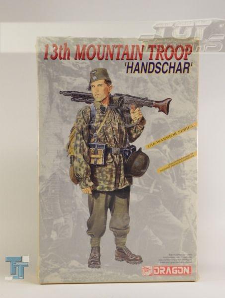 1/16 13th Mountain Troop Handschar Dragon Soldier Plastic Model Kit #1614