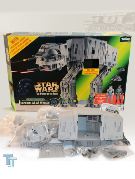 POTF² Electronic Imperial AT-AT Walker, MIB
