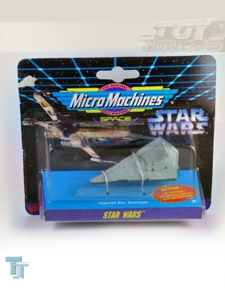 Micro Machines Miniatur Imperial Star Destroyer, MOC