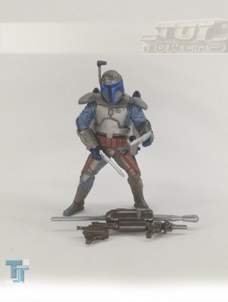 AOTC - Jango Fett - with Electronic Jetpack - Deluxe Set, lose