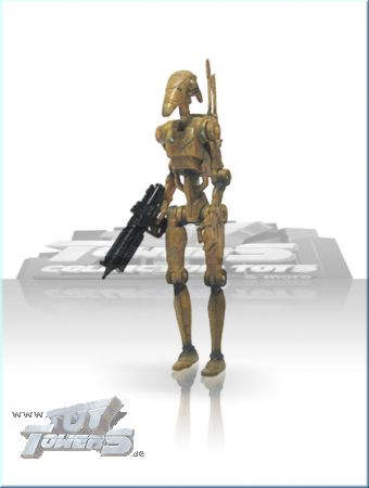EP1 Battle Droid Blaster Riffle - brown dirty, lose