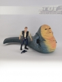 POTF² Jabba the Hutt & Han Solo, loose