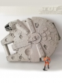 Millennium Falcon Carry Case with Wedge Antilles Figure, loose